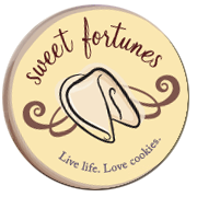 sweet fortune cookies logo logo